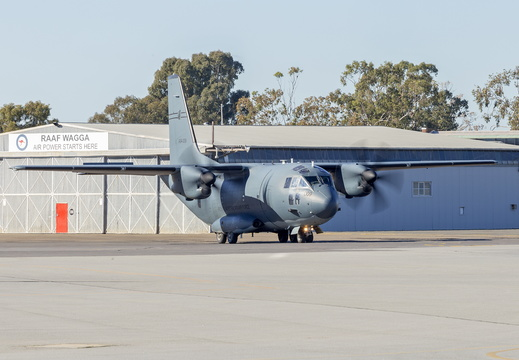 Royal Australian Air Force (A34-009) Alenia C-27J Spartan at Wagga Wagga Airport