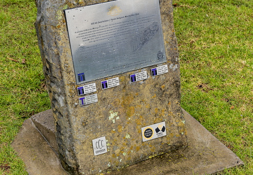 Hill 60 Zwarteleen Memorial at Rotary Park in Kurri Kurri