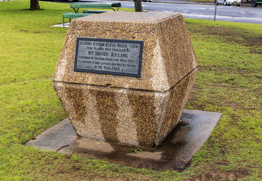 Kurri Kurri Time Capsule at Rotary Park in Kurri Kurri