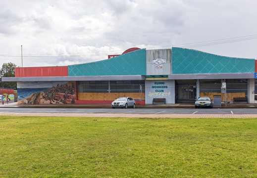 Former Kurri Workers Club building
