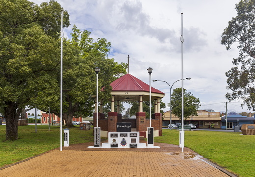 Kurri Kurri War Memorial at Rotary Park in Kurri Kurri
