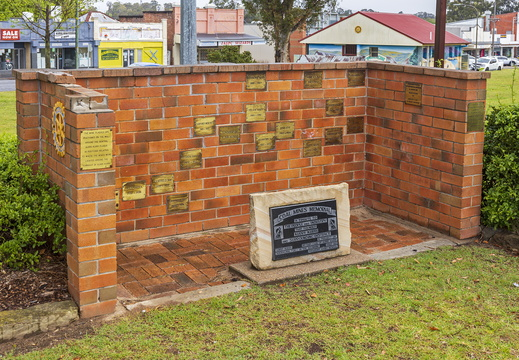Coal Mines Memorial at Rotary Park in Kurri Kurri