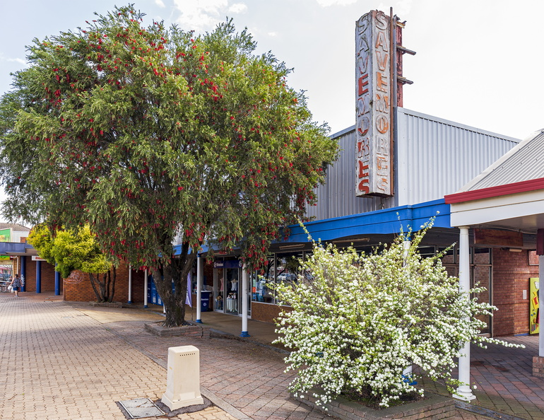 Former Savemore Supermarket, now Vinnies Store in Kurri Kurri