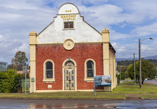 Former Masonic Temple in Kurri Kurri