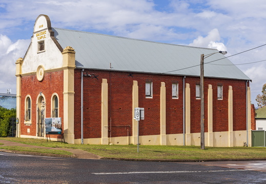 Former Masonic Temple in Kurri Kurri (1)