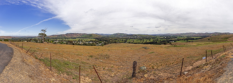 View over Gundagai from Rotary Lookout