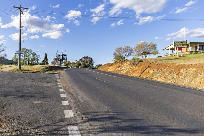 Looking north on West Street, Gundagai
