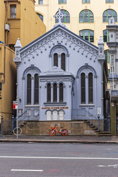 Martin Luther Kirche on 90B Goulburn Street, Sydney