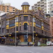Hotel Harry (formerly Macquarie Hotel) on 40-44 Wentworth Avenue, Sydney