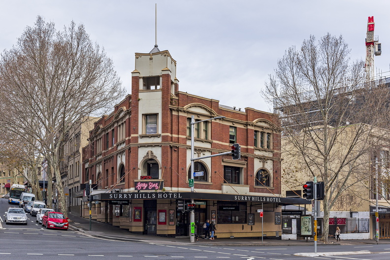 Surry Hills Hotel on 198 Elizabeth Street, Sydney